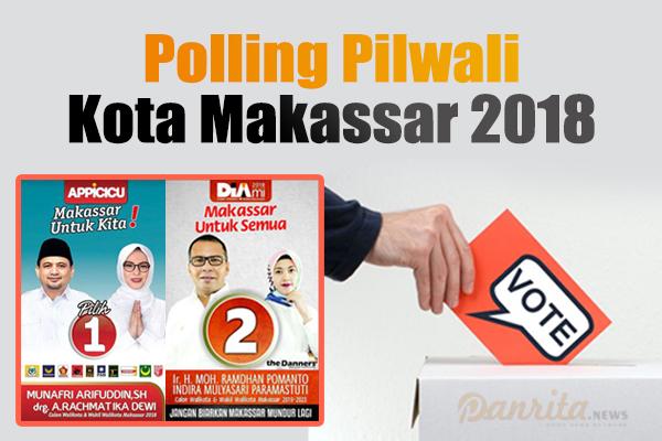 Polling Pemilihan Calon Wali Kota