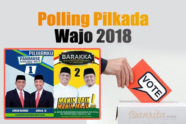 Polling Pilkada Wajo