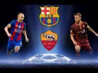 Barcelona vs AS Roma