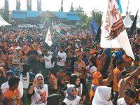 Ratusan komunitas hadiri kampanye