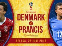Denmark vs Prancis