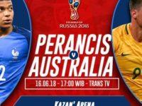 Prancis vs Australia