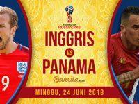 Inggris vs Panama