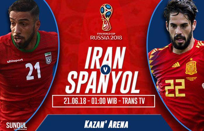 Iran vs Spanyol