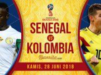 Senegal vs Kolombia