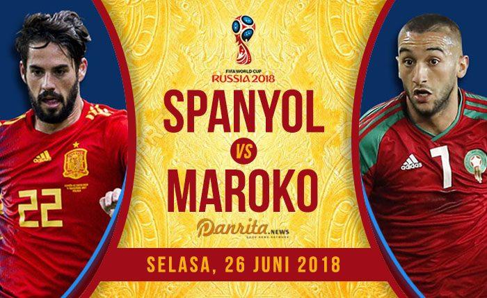 Spanyol vs Maroko
