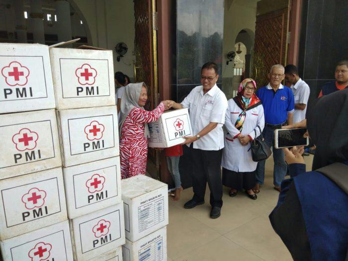 Bantuan Kemanusiaan PMI tiba di Wajo