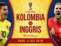 Kolombia vs Inggris