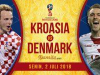 Kroasia vs Denmark