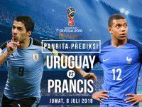 Prediksi Uruguay vs Prancis