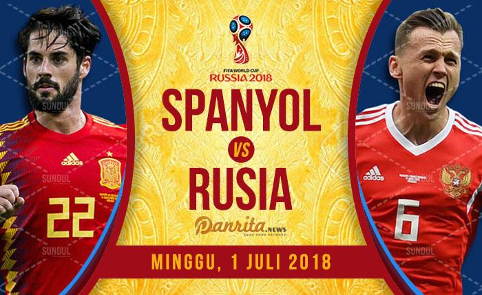 Spanyol vs Rusia