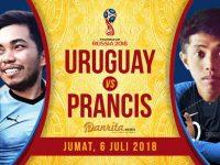 Uruguay vs Prancis