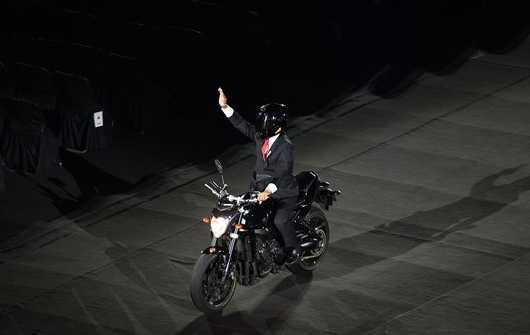 Aksi Jokowi di Asian Games