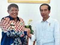 Bupati Bulukumba saat Menemui Presiden Joko Widodo
