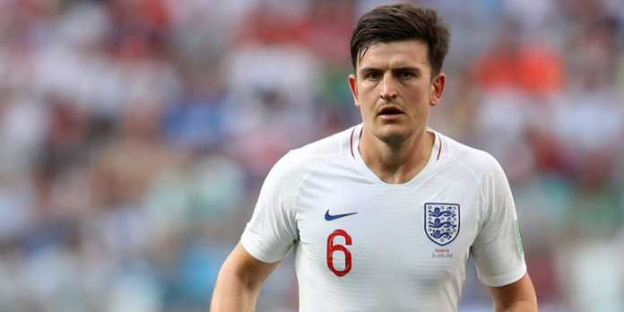 Bek Leicester City Harry Maguire © AFP