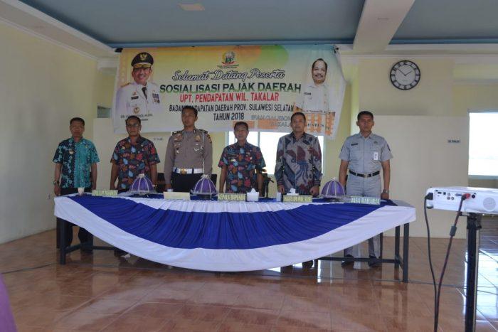 Hengky Yasin Hadiri Sosialisasi Pajak di Galesong