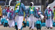 Jamaah Haji Indonesia dapat Uang Saku