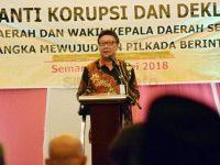 enteri Dalam Negeri Tjahjo Kumolo menilai kasus korupsi di Indonesia sudah akut. Hal itu diungkapkan Tjahjo berdasarkan data Indonesia Corruption Watch (ICW). Foto/SINDOnews