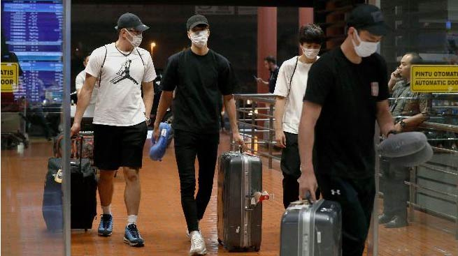 Pebasket Jepang Dipulangkan