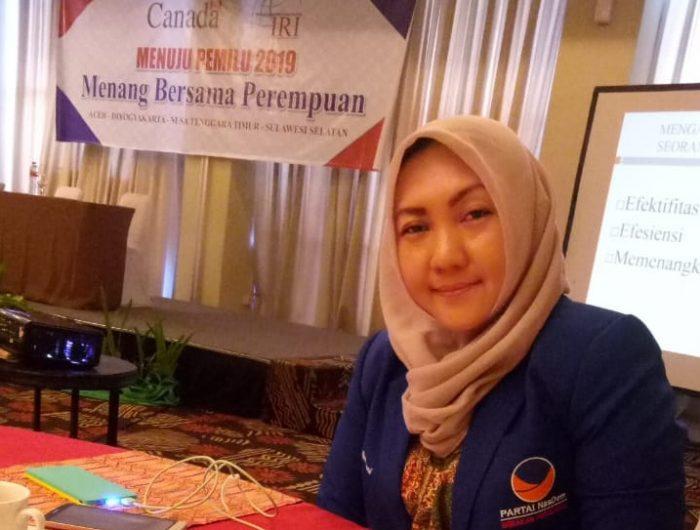 Syahruni Aryanti mengikuti training IRI