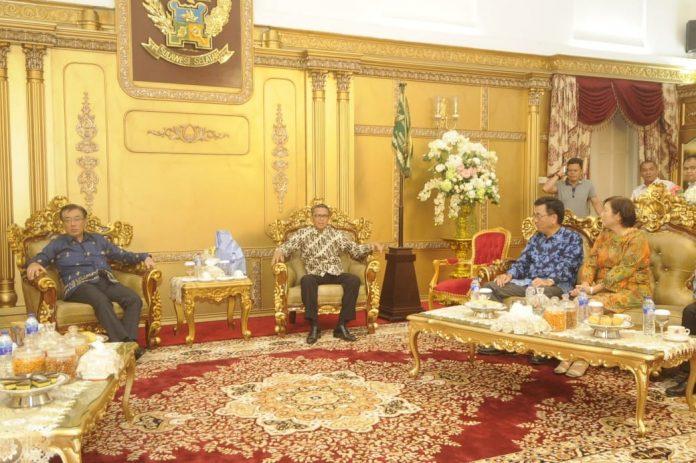 Kepala Konsuler Jepang Temui Nurdin Abdullah