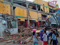 Reruntuhan Bangunan Akibat Gempa Palu, Jumat (28/9/2018)
