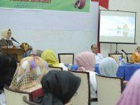 Musyawarah pengurus Ikatan Alumni SMA Kartika Makassar, di Baruga Karaeng Pattingalloang, Sabtu (22/9).