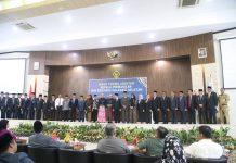Bupati Barru hadiri Serah Terima Jabatan Kepala Perwakilan BPK Sulsel