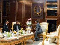 Bupati Selayar Basli Ali Temui NA di Kantor Gubernur Sulsel