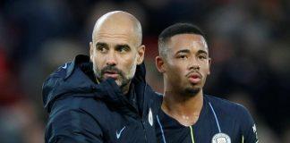 Guardiola dan Jesus. © Reuters
