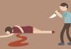 Ilustrasi Suami membunuh Istri