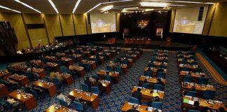 Ilustrasi sidang paripurna DPRD DKI Jakarta