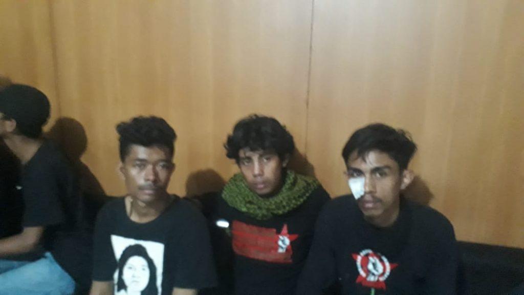 Korban aksi demo Aliansi BAKAR yang berujung ricuh