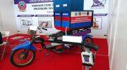 Moliku motor listrik karya Mahasiswa Makassar. FOTO/ ist