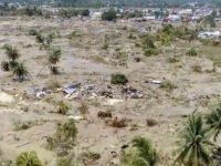 Kondisi Kampung Petobo, Palu, Sulawesi Tengah pascagempa.