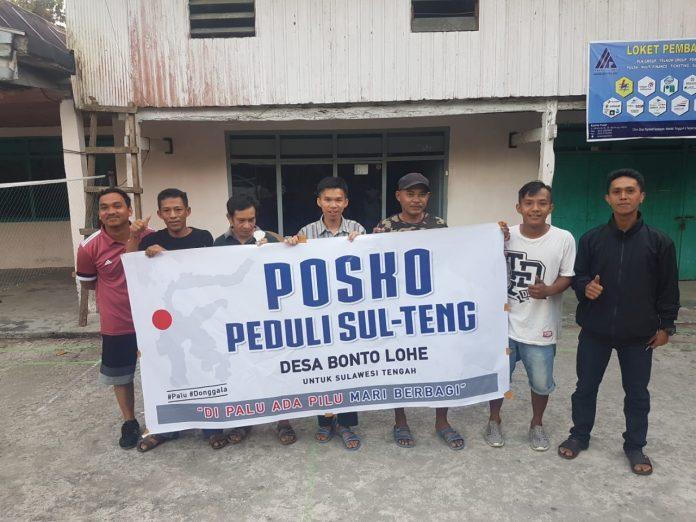Pemuda Bontolohe Bulukumba Galang Dana untuk Korban Gempa Sulteng