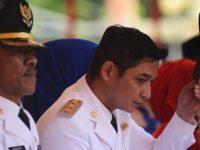 "Sigit Purnomo Syamsuddin Said alias Pasha ""Ungu"" saat dilantik sebagai Wakil Wali Kota Palu periode 2016-2021, Rabu (17/2/2016)"