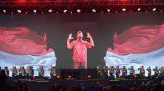 Upacara penutupan Asian Para Games 2018 di Stadion Madya GBK, Jakarta, Sabtu (13/10/2018). (Foto: Irfan Adi Saputra/kumparan)