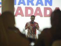 Acara malam ramah dengan Asosiasi Pilar Kesejahteraan Sosial Indonesia (APIKSI) di Rumah Jabatan Gubernur Sulsel, Minggu (14/10) malam.