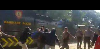 Demo Sumpah Pemuda di Makassar Berujung Bentrok