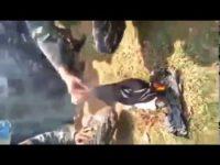 Video Oknum Banser Diduga Bakar Bendera Tauhid