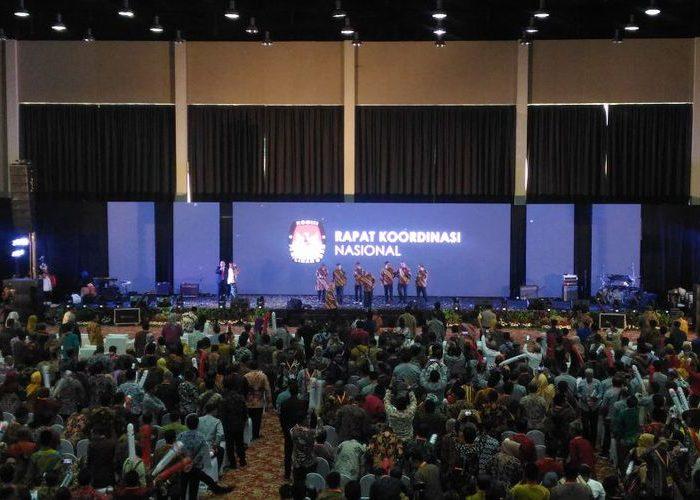 Komisi Pemilihan Umum menggelar Rapat Koordinasi Nasional