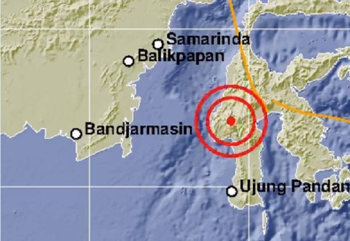 Gempa Guncang Mamasa Sulawesi Barat