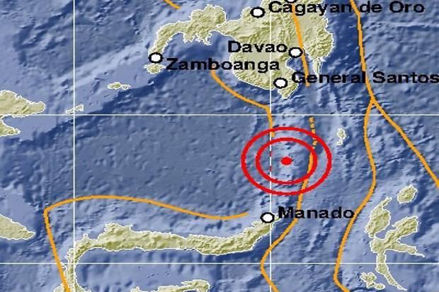 Gempa berkekuatan 5,2 SR guncang Kepulauan Sangihe, Sulawesi Utara