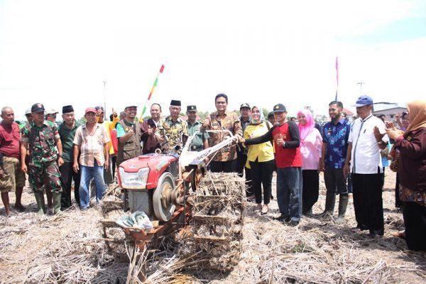 Hadiri Tradisi 'Mappalili, Bupati Barru Sebut Petani adalah Pahlawan