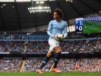 Leroy Sane menepis laporan yang mengaitkannya dengan Manchester United (Foto: Michael Regan/Getty Images)