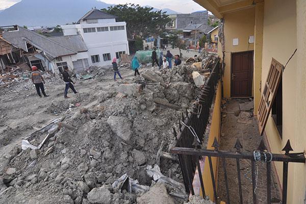 Lokasi Terdampak Likuifaksi di Petobo