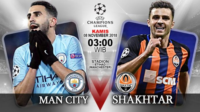 Manchester City vs Shakhtar Donetsk