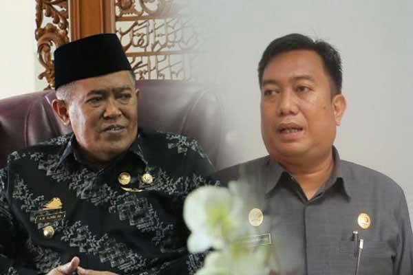 Bupati Bulukumba (kiri) Ketua DPRD (Kanan)
