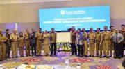 Pertemuan Tahunan Bank Indonesia di Hotel Claro, Makassar, Selasa (4/12).